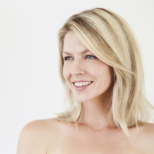 stock photo: portrait of women's face